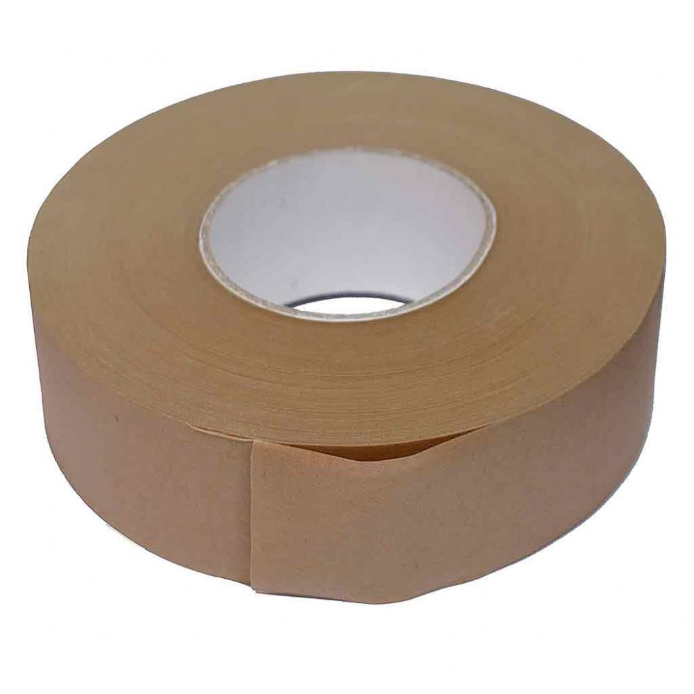 Gummed Brown Frame Backing Tape 50mm x 200metres